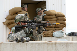 2nd Cavalry Regiment mission rehearsal exercise