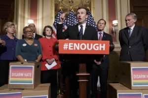 Democratic Senators for Gun-control Legislation